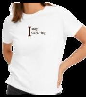 I Stay God-ing Women's Tee